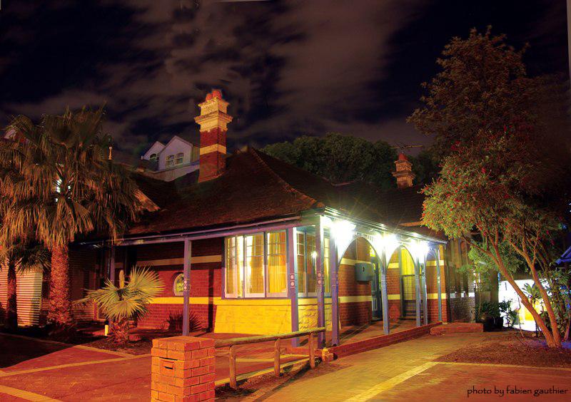 Coolibah lodge night